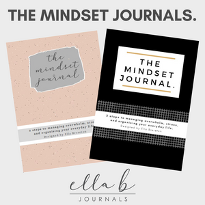 The Mindset Journal (PRE-ORDER)