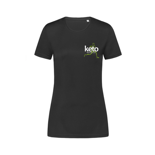 Womens Branded Sports T-Shirt