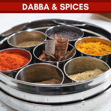 Load image into Gallery viewer, Spice Medley: Dabba & Spice Selection