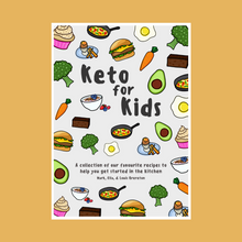 Load image into Gallery viewer, Keto For Kids Cookbook