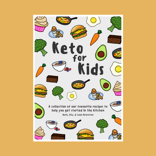 Keto For Kids Cookbook