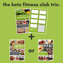Load image into Gallery viewer, The Keto Fitness Club Trio