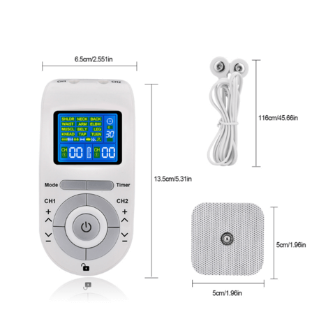 Premium Tens Electric Muscle Stimulator Machine