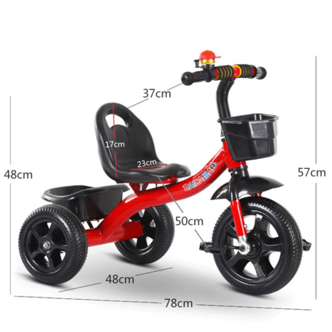 Lightweight Kids 3 Wheel Tricycle For Boys/Girls