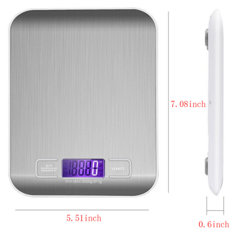 Digital Electronic Kitchen Baking Food Weight Scale