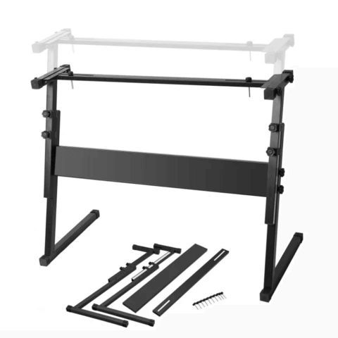 Portable Z-Style On Stage Piano Keyboard Stand