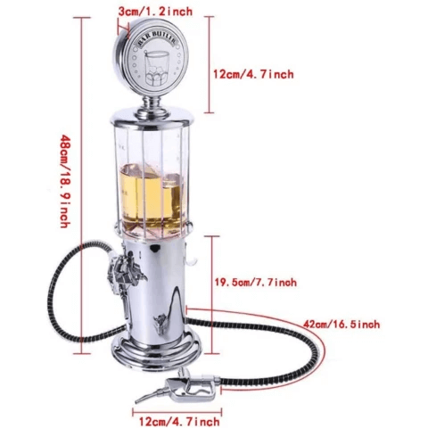 Portable Dual Nozzle Liquor / Alcohol Dispenser