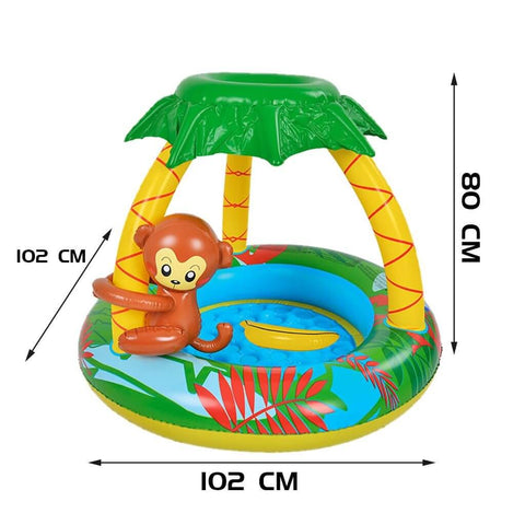 Inflatable Plastic Baby Swimming Pool