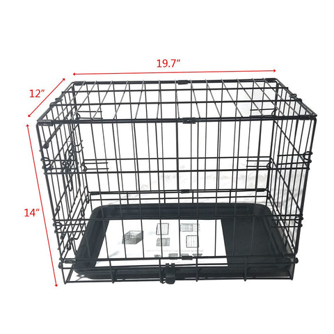 """Heavy Duty Pet Kennel Wire Cage 20"""""""