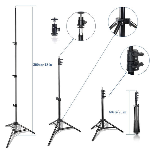 Premium Dimmable Studio LED Lighting With Tripod