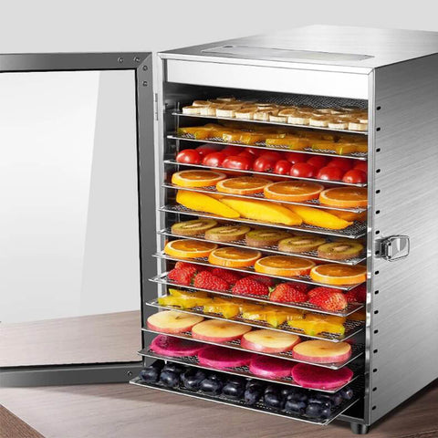 Commercial 12 Layers Fruit Dryer Machine