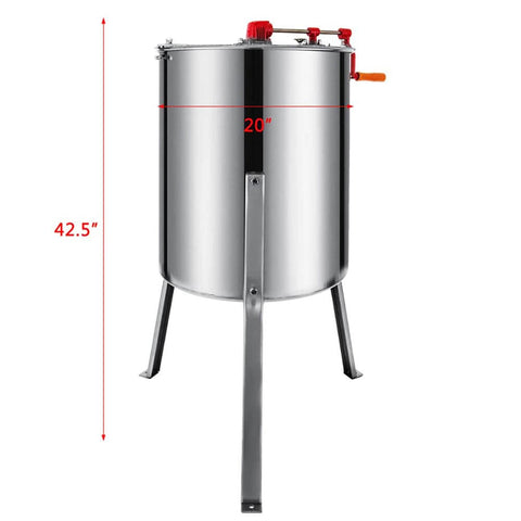 Stainless Steel Manual Honey Extractor