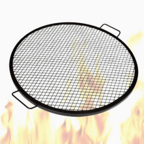 Outdoor Round Fire Pit Cooking Grill Grate
