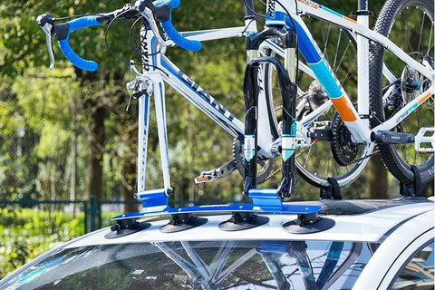 Car Bicycle Carrier Roof Mounted Holder Rack