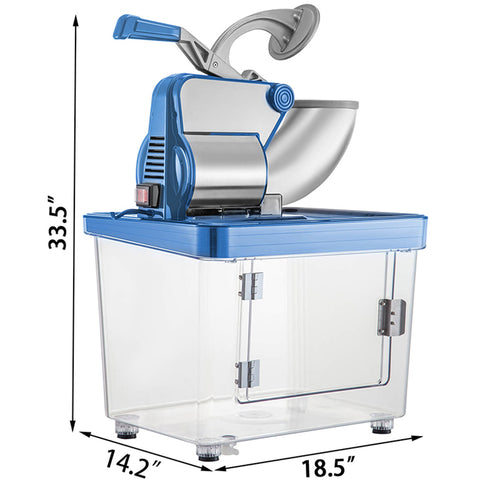 Commercial Electric Snow Cone Ice Shaver Machine