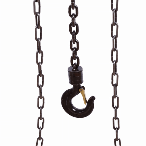 Heavy Duty Rugged Manual Chain Lift Pulley Fall Hoist