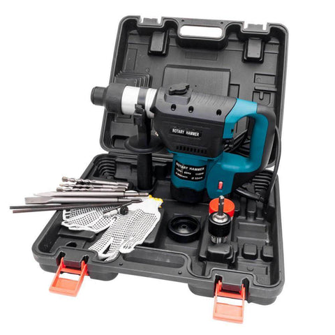 Heavy Duty Electric Rotary Hammer Drill 1100W