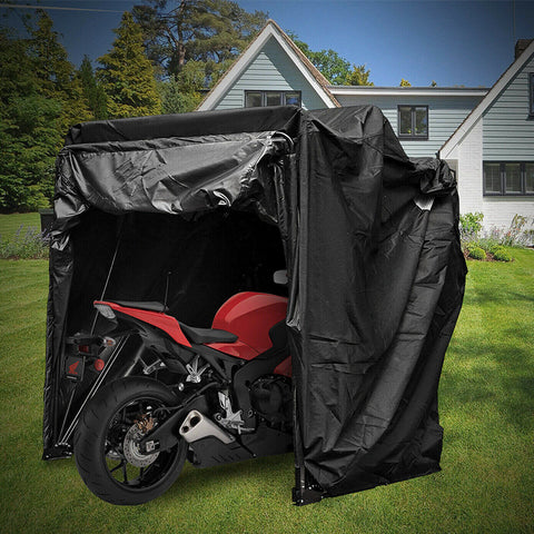 Motorcycle Shelter Shed Cover Storage Tent