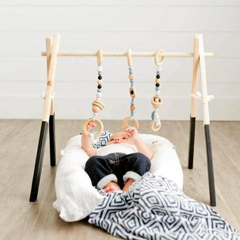 Nordic Wooden Baby Gym