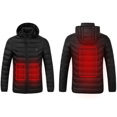 Heated Electric Jacket Battery Operated