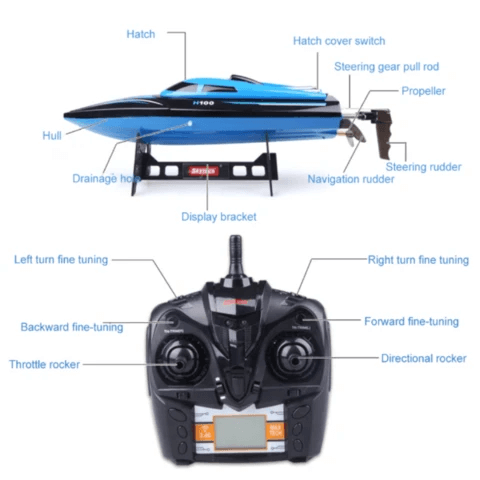 Premium Remote Control Electric RC Speed Boat