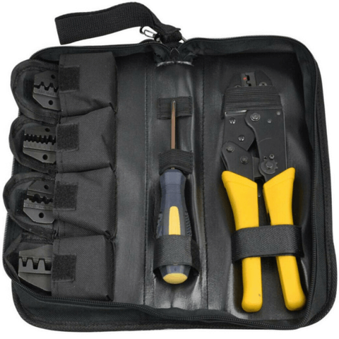Heavy Duty Cable Wire Connector Crimping Tool