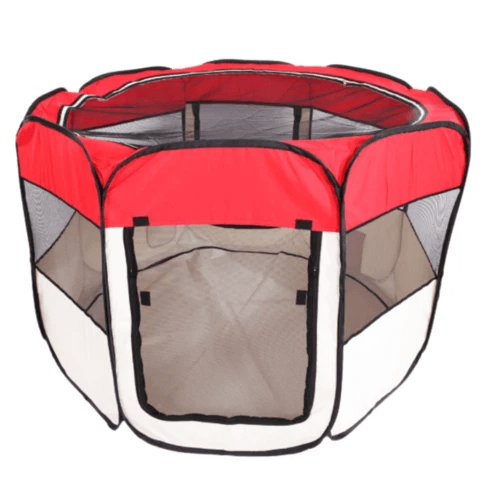 """Portable Indoor Dog And Cat Playpen Kennel 35"""""""