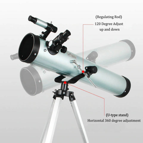 F76700 Professional Astronomic Telescope Tripod Zooming for Space Planet Observation