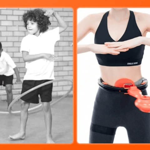 Smart Weighted Adult Fitness Hula Hoop