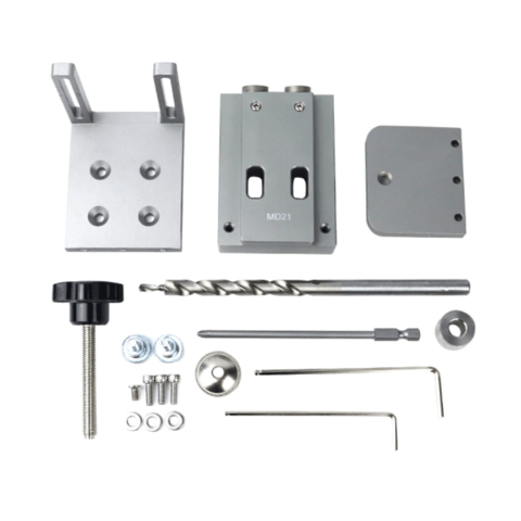 Pocket Hole Screw Joinery Drill Guide Kit