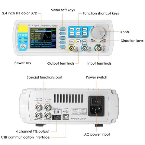 Dual-Channel Function Signal Generator
