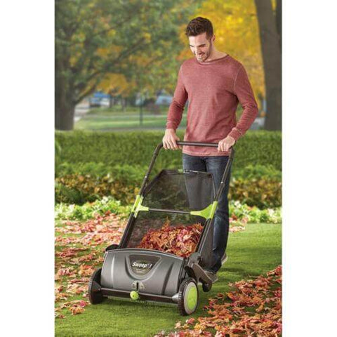 Premium Leaf Collecting Lawn Sweeper