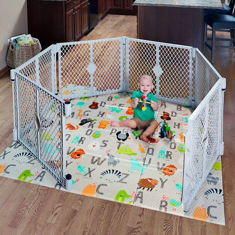 Large Baby Panel Playpen Safety Play