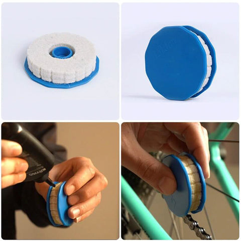 Bicycle Roller Lubricating Chain