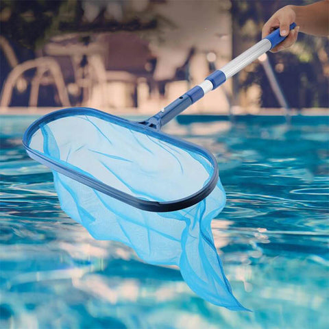 Portable Swimming Pool Net with Telescopic Pole