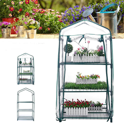 3 Tier Mini Green House Garden with Cover