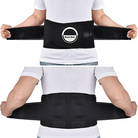 Infrared Heated Therapy Lower Back Belt