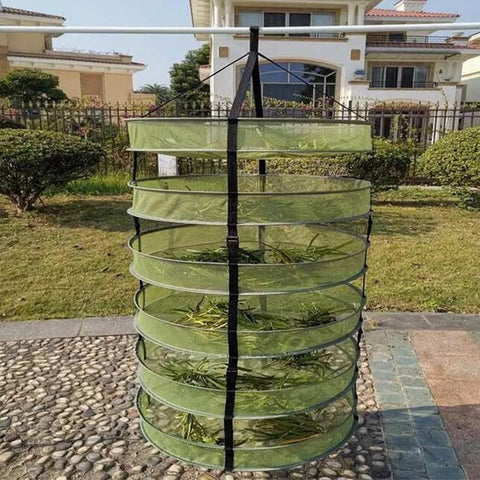 Collapsible Hanging Herb Buds Dry Net