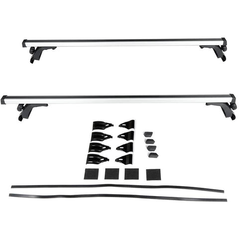 "Universal Aluminum 50"" Roof Rack Cross Bar Car Top Rails"