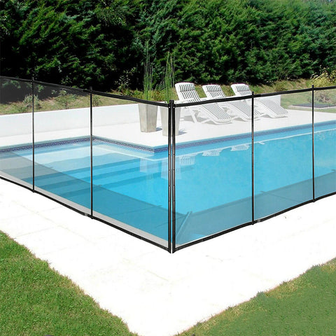 Pool Safety Fence In-Ground Swimming Pool