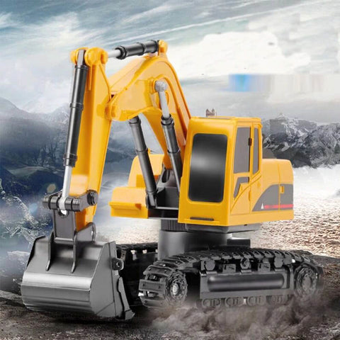 RC Engineering Car Alloy and Excavator RTR For Kids