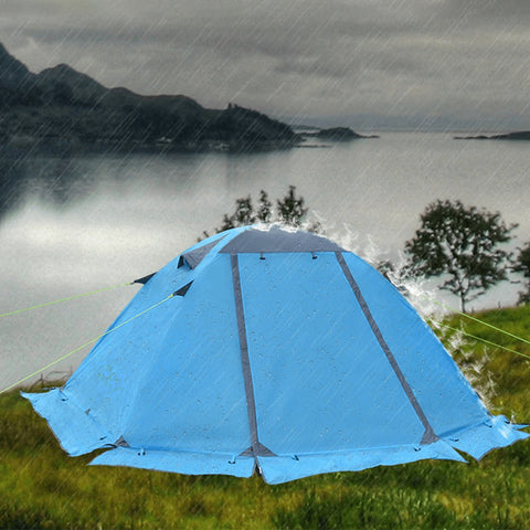 Lightweight Backpacking Winter Tent with Snow Skirt