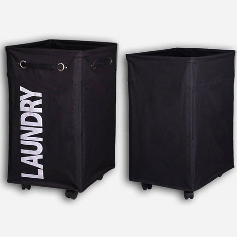 Rolling Laundry Hamper Basket with Wheels
