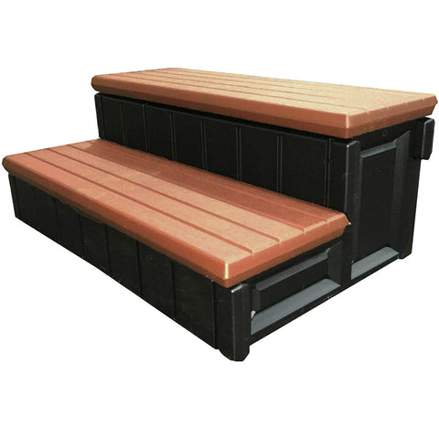 36in Deluxe Patio Long Hot Tub & Spa Step