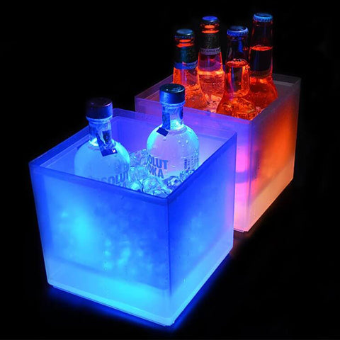 3.5L Colorful Changing LED Cooler Bucket