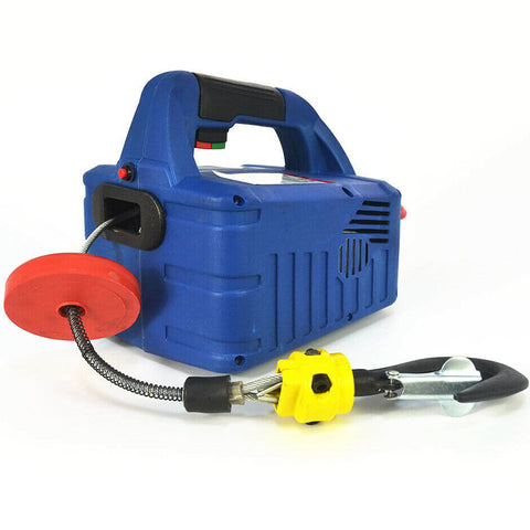 1500W Portable Household Electric Winch Control