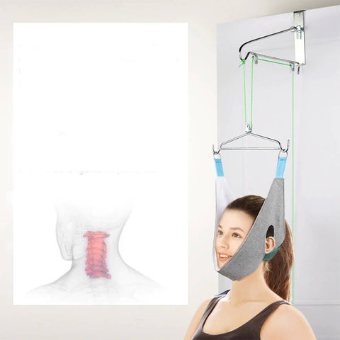 Hanging Neck Traction Device Cervical Correction Stretcher
