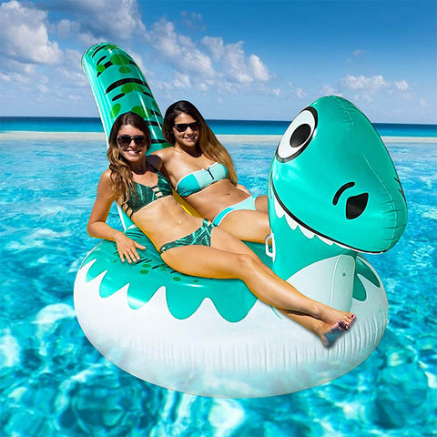 Giant Dinosaur Inflatable Pool Float Toy
