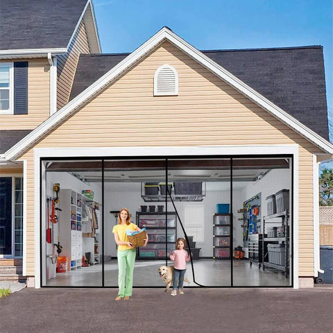 Large Size Magnetic Garage Mosquito Net