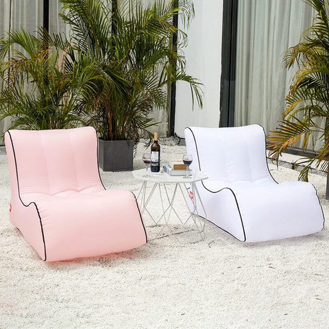 Portable Inflatable Lounger Chair for Outdoors